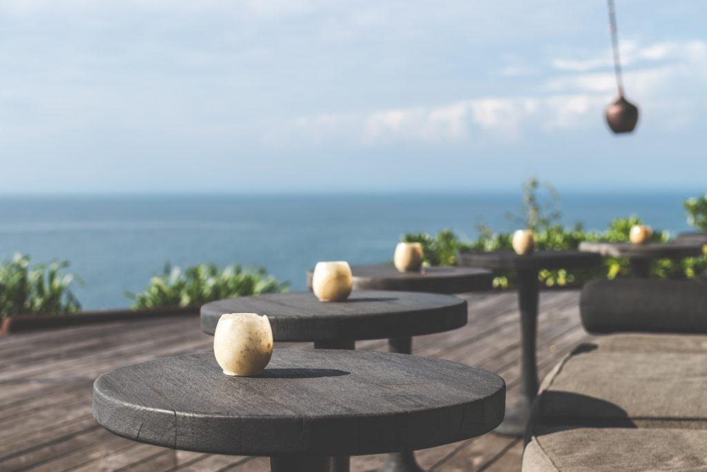 Una bonita terraza donde disfrutar del atardecer